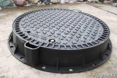 Люк чугунный канализационный тип