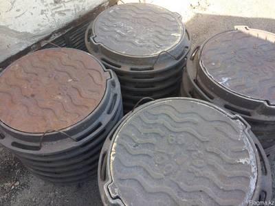 Люки канализационные чугунные ГОСТ 3634-99 тип Л - main